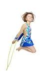Girl gymnastic Stock Photography
