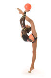 Girl gymnasts Royalty Free Stock Photography
