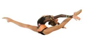 Girl gymnasts Stock Image