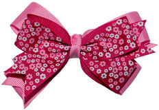 Girl Hair Ribbon Bow Isolated Royalty Free Stock Photos