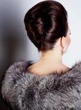 Girl hairstyle Royalty Free Stock Photos