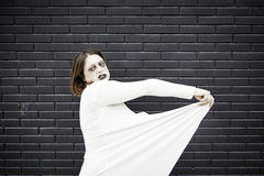 Girl in halloween Royalty Free Stock Photos