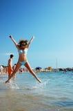 Girl happy Royalty Free Stock Photography