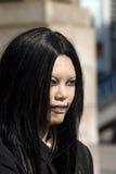 Girl in Harajuku, Tokyo, Japan Stock Photo