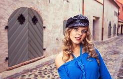 Girl in hat Stock Image