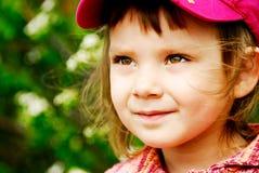 Girl in hat Stock Photo
