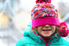 Girl in the hat Royalty Free Stock Photo