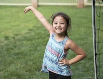 Girl having fun Stock Image