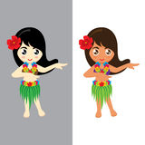 Girl Hawaii. Stock Images
