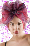 The girl with headscarf Royalty Free Stock Photo