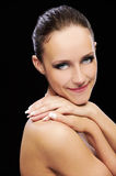 Girl with healthy skin Royalty Free Stock Images