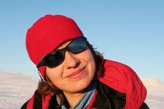 Girl-hiker Stock Image