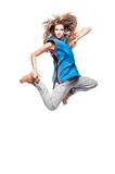 Girl hip-hop dancer Stock Image