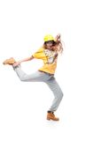 Girl hip-hop dancer Royalty Free Stock Images