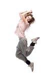 Girl hip-hop dancer Royalty Free Stock Image