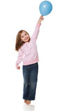 Girl Holding Balloon Royalty Free Stock Image