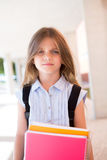 Girl holding books Stock Photography