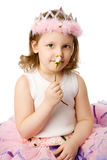 Girl holding rose Royalty Free Stock Photography