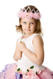 Girl holding rose Royalty Free Stock Photo
