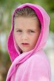Girl on holiday Stock Photo