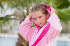 Girl on holiday Royalty Free Stock Images