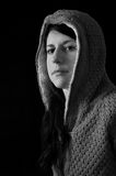 Girl in hood Royalty Free Stock Photos