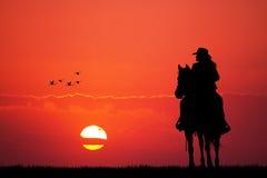 Girl on horse Stock Photos