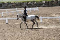 Girl horse riding Royalty Free Stock Photos