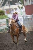 Girl on horseback. Royalty Free Stock Image