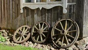 Girl house decor wheel stock footage