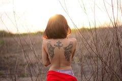 Girl, Human Hair Color, Shoulder, Sunlight Stock Photography