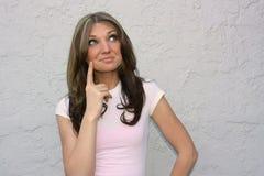 Girl with Idea Stock Photos