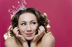 Merry Princess Royalty Free Stock Photos