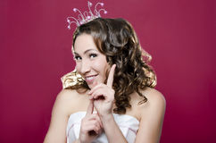Merry Princess Royalty Free Stock Images