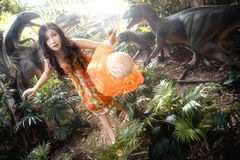 Free Girl In Forest Royalty Free Stock Photography - 22973367
