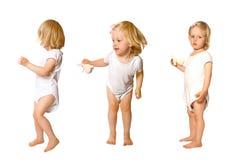 Free Girl In Fun Dancing Poses Royalty Free Stock Image - 4633126