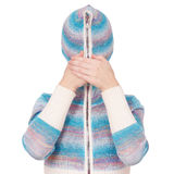Girl In Hood Stock Image