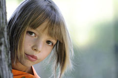 Girl In Nature Royalty Free Stock Image