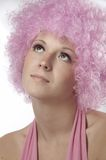 Girl In Pink Royalty Free Stock Photography