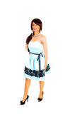 Girl In Prom Dress. Royalty Free Stock Image