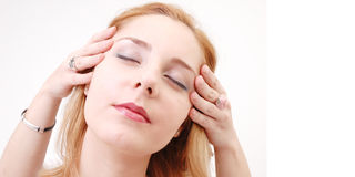 Girl In Salon Stock Photos