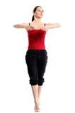 Girl In Sportswear Doing Sport Exercises Royalty Free Stock Image