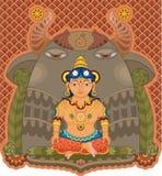 Girl India Goddess stock images