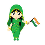 Girl India Royalty Free Stock Photography