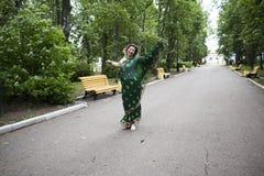 Girl in Indian saree Stock Image