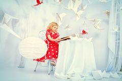 Girl innocence Stock Photos