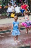 Girl at Iowa State Fair Stock Photos
