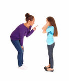 Girl Is Disciplined. Royalty Free Stock Photos