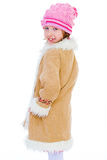 Girl jacket Royalty Free Stock Photography
