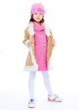 Girl jacket Stock Photos